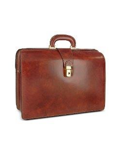 Pratesi - Leather Doctor Bag Briefcase w/Interior Lighting