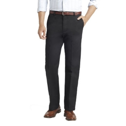 Izod - Slim-Fit Flat-Front Chino Pants