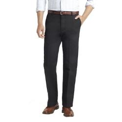 Izod - Slim-Fit Flat-Front Chino Pants