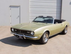 Chevrolet  - 1968 Camaro Convertible Car