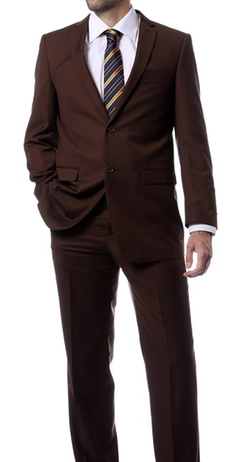 Ferrecci - Premium Solid Two Piece Regular Fit Suit