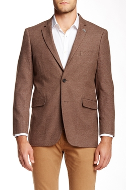 US Polo Assn.  - Houndstooth Modern Fit Notch Collar Sport Coat