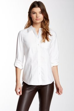 Foxcroft  - Long Sleeve Oxford Modern Fit Shirt