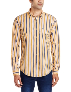 Basics - Stripes Longsleeves Casual Shirt