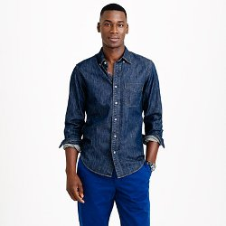 J Crew - Midweight Denim Shirt