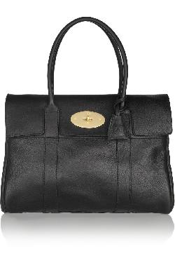 MULBERRY  - The Bayswater textured-leather bag