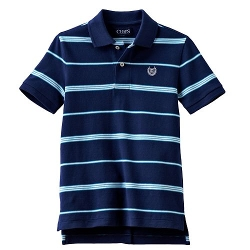 Chaps  - Striped Polo Shirt