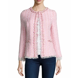 Michael Simon - Tweed Beaded Jacket