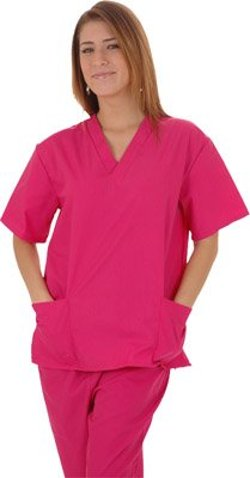 Lucky Scrubs - Scrub Set Two Pocket Top with Four Pocket Pants