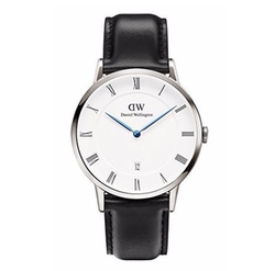 Daniel Wellington  - Dapper Sheffield Leather Strap Watch