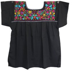 Chamaco  - Embroidered Mexican Peasant Blouse