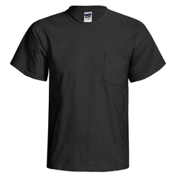 Gildan - Front Pocket Cotton T-Shirt