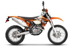 KTM - 2013 500 EXC Motorcycle Bike