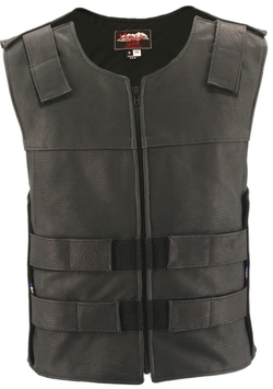 Hillside Usa - Tactical Style Leather Vest