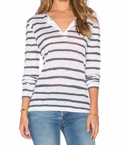 Anine Bing - Henley Shirt