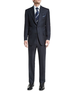 Tom Ford - Windsor Base Birdseye Wool Suit