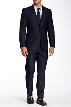 English Laundry - Woven Two Button Notch Lapel Suit