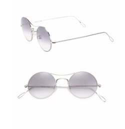Kyme  - Ros 49MM Round Sunglasses