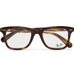 Ray-Ban - Original Wayfarer Square-frame Acetate Optical Glasses