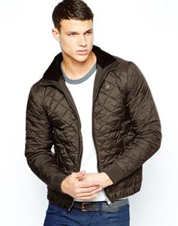 G STAR - Quilted Jacket Correct Nylon