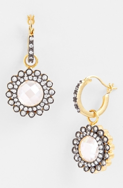 Freida Rothman - Small Sunflower Drop Earrings