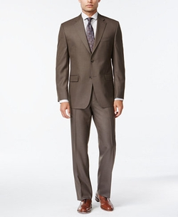 Izod - Sharkskin Classic-Fit Suit