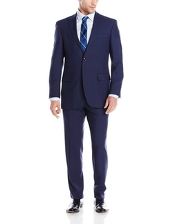 Perry Ellis - Two Button Peak Lapel Suit