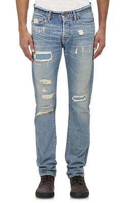 Nsf - Rip & Repair Jeans