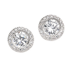 Lord & Taylor - Round Earrings