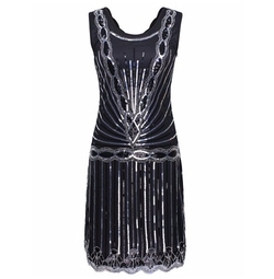 Pretty Guide - Sequin Inspired Gatsby Flapper Dress