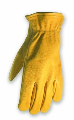 Wells Lamont - Grain Deerskin Work Gloves