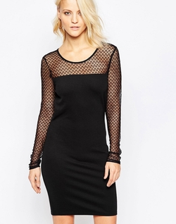 Vila - Body-Conscious Dress