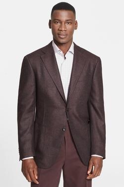 Canali  - Classic Fit Wool Blazer