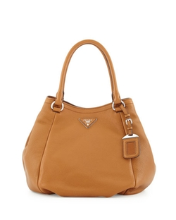 Prada - Vitello Daino Small Satchel Bag