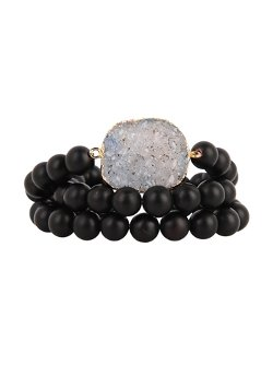 Valerie Nahmani Designs - Triple Wrap Bracelet