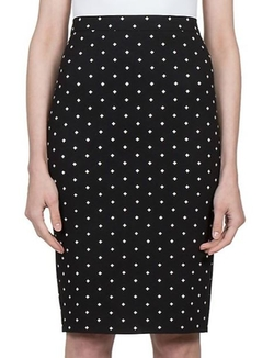 Givenchy  - Crosses Pencil Skirt