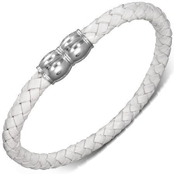 Urban Male - Plaited Leather Bracelet