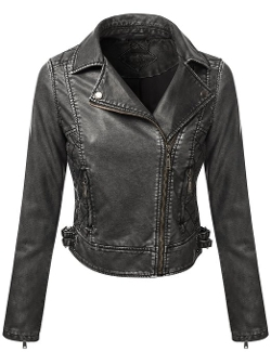 J.Tomson - Leather Moto Jacket