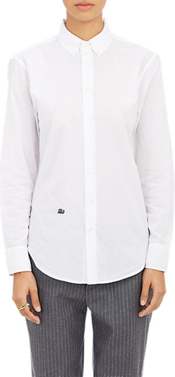 Band of Outsiders - Cropped Oxford Shirt