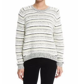 J Brand - Ramona Striped Long-Sleeve Sweater