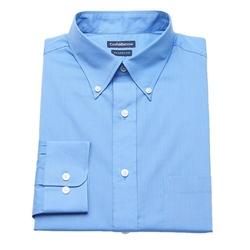 Croft & Barrow - Fitted Button-Down Collar Dress Shirt