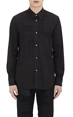 Junya Watanabe Man Comme Des Garçons - Pleated Bib-Front Tuxedo Shirt