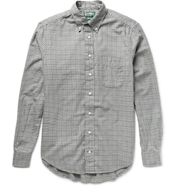 Gitman Vintage - Micro Gingham Checked Shirt