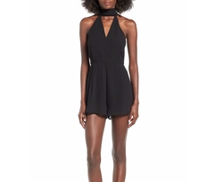 C/MEO Collective - Make It Right Halter Neck Romper