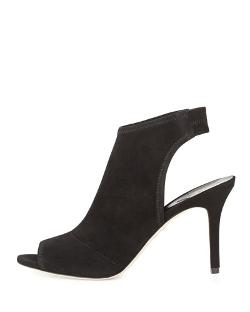 B Brian Atwood	 - Elliana Suede Peep-Toe Sandals