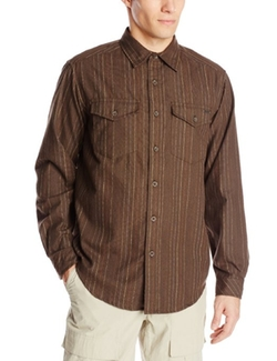 Exofficio  - Trail Crest Stripe Long Sleeve Shirt