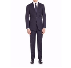 Armani Collezioni - Pinstriped Wool Suit