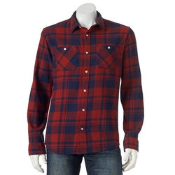 Urban Pipeline - Flannel Button-Down Shirt