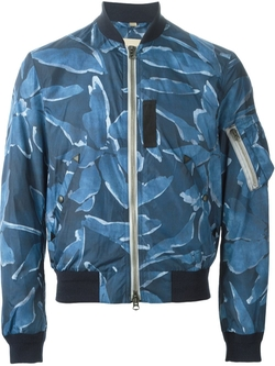 Burberry Brit  - Printed Bomber Jacket