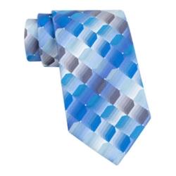 Van Heusen - Shaded Geo Silk Tie